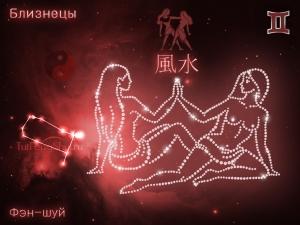 Фэн-шуй для знака Зодиака Близнецы