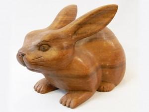 Заяц (кролик) для удачи и здоровья