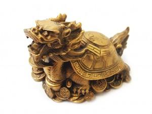 Драконочерепаха как символ гармонии вселенной